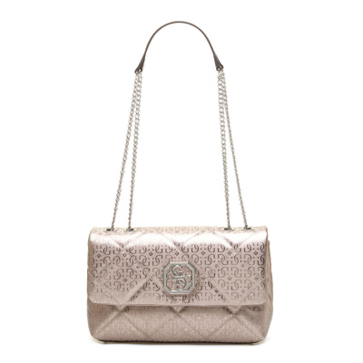 GUESS Dilla Convertible Pewter Schoudertas HWSY79-71210-PEW