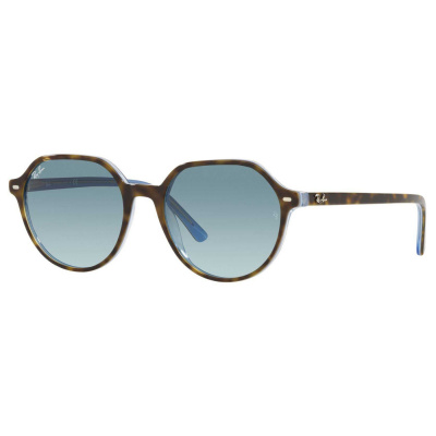 Ray-Ban Havana Light Blue Zonnebril RB2195191203