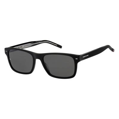 Tommy Hilfiger Black Zonnebril TH-1794S-807-55-IR