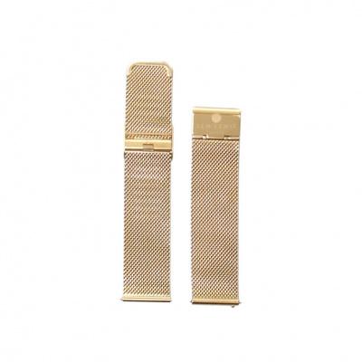 Sem Lewis Strap 22mm Goudkleurig SL620003