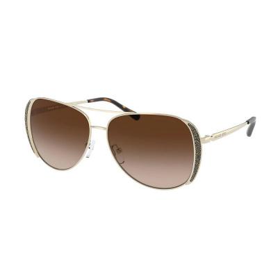 Michael Kors Chelsea Glam Light Gold Zonnebril MK108210141358