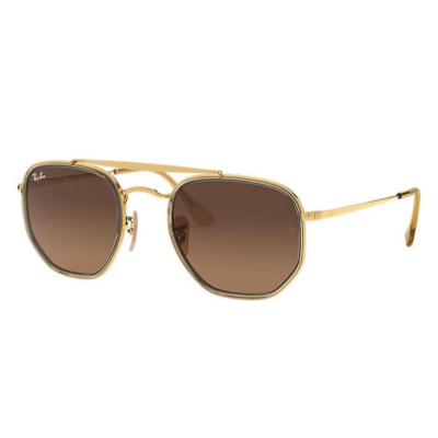 Ray-Ban The Marshall II Brown Gradient Zonnebril RB3648M91244352