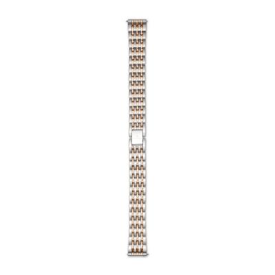 Renard Élégance Strap 14mm Zilverkleurig/Roségoudkleurig R14M3SR2