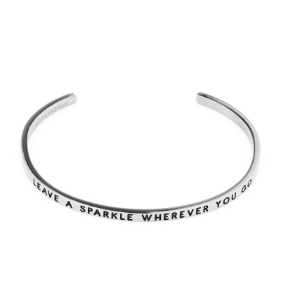 May Sparkle The Bangle Collection bracciale MS10003 (dimensione: 18.5 cm)