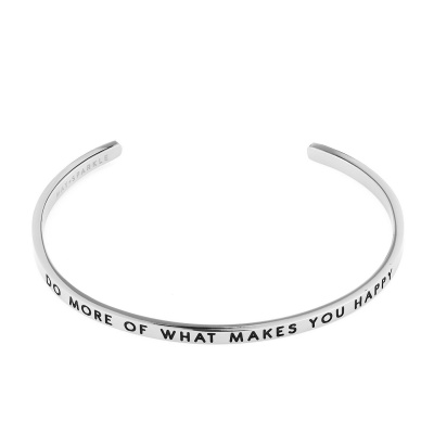 May Sparkle The Bangle Collection bracciale MS10007 (dimensione: 18.5 cm)