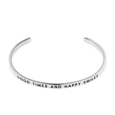 May Sparkle The Bangle Collection bracciale MS10009 (dimensione: 18.5 cm)