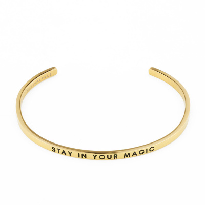 May Sparkle The Bangle Collection bracciale MS10012 (dimensione: 18.5 cm)