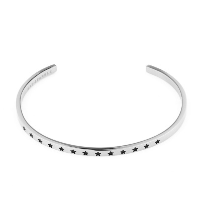 May Sparkle The Bangle Collection bracciale MS10013 (dimensione: 18.5 cm)