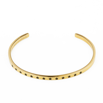 May Sparkle The Bangle Collection bracciale MS10014 (dimensione: 18.5 cm)