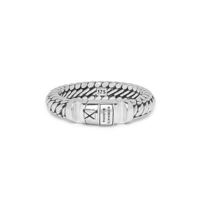 Buddha to Buddha 925 Sterling Zilveren Heritage Ben XS Lock Ring BTB613