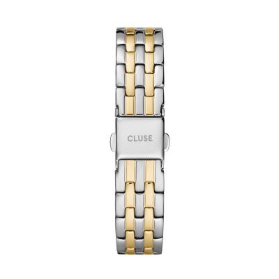 CLUSE Strap 16 mm Zilverkleurig/Goudkleurig CS1401101077