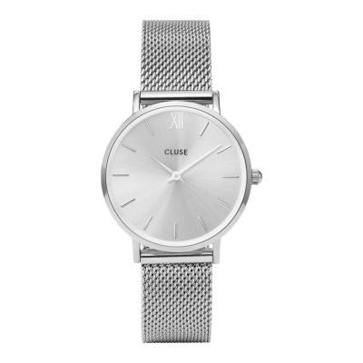 CLUSE Minuit Zilverkleurig Horloge CW0101203011