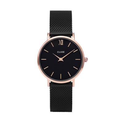 CLUSE Minuit Roségoudkleurig/Black Horloge CW0101203024
