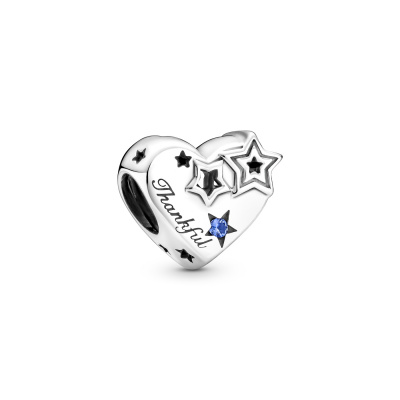Pandora People Thankful Heart & Stars Bedel 799527C01