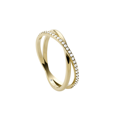 Fossil Vintage Iconic Goudkleurige Ring JF03752710