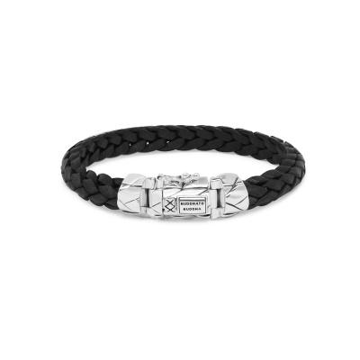 Buddha to Buddha Mangky Leather Armband 127BL (Lengte: 19.00-23.00 cm)