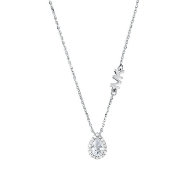 Michael Kors Premium 925 Sterling Zilveren Ketting MKC1453AN040 (Lengte: 40.60 - 45.70 cm)