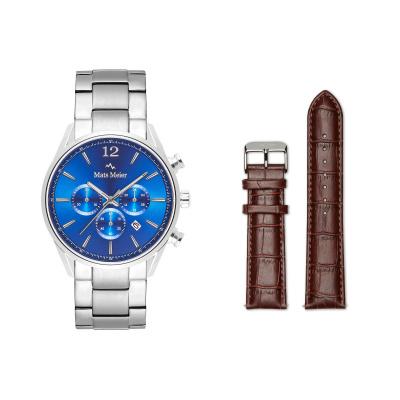Mats Meier Grand Combin Herenhorloge En Horlogeband Giftset MM90012