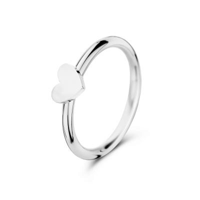 May Sparkle Happiness Eleonor Zilverkleurige Ring MS10081