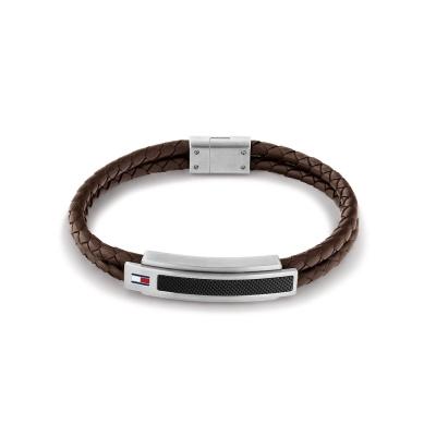 Tommy Hilfiger Bruine Armband TJ2790355 (Lengte: 21.00 cm)