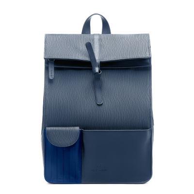 Violet Hamden Essential Bag Deep Sea Blue Rugzak VH24002